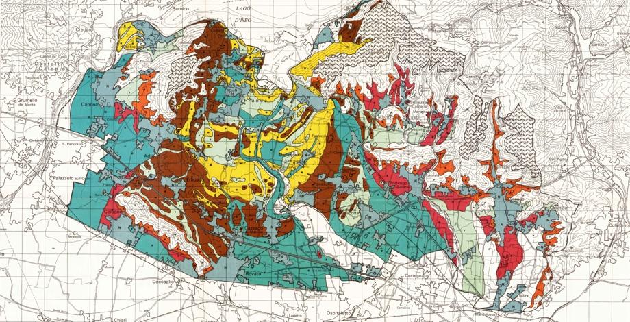 フランチャコルタ 地域 産地 地図